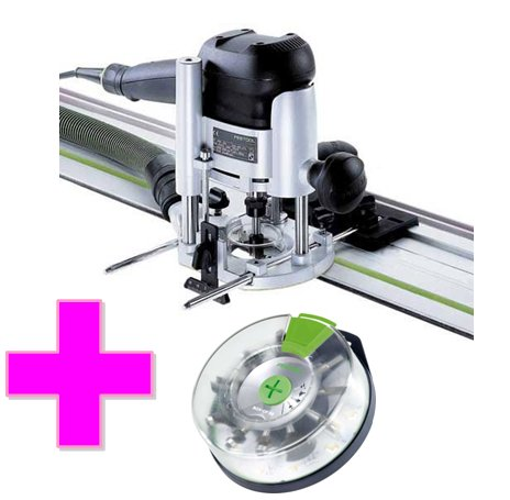 Festool OF 1010 EBQ-Set Horní frézka + Box-OF-S 8/10x HW